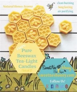 Nature's Air Purifier: Benefits of Beeswax