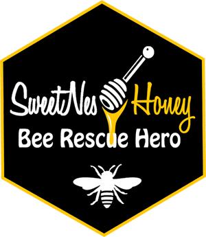 Bee Rescue Hero badge